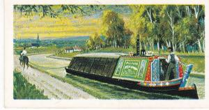Trade Cards Brooke Bond Tea Transport Through The Ages No 11 Horse Barge