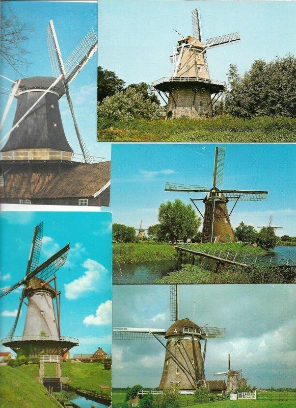 Old Dutch Wind Mills - Lot of 20 Postcards Postcard Lot of 20 BS.01