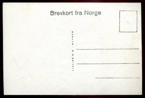 dc1686 - NORWAY Balholmen 1910 Kong Beles Gravhaug. Real Photo Postcard