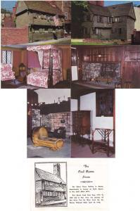 (6 cards) The Paul Revere House - Boston MA, Massachusetts