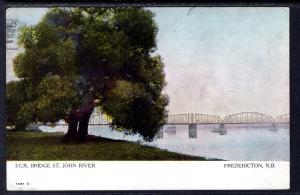 I C R Bridge,St John River,Fredericton,NB,Canada