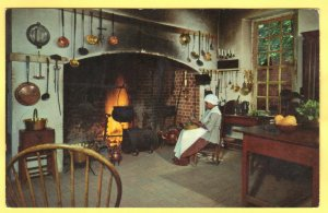 GOVENOR'S PALACE KITCHEN, WILLIAMSBURG, VIRGINIA SEE SCAN  PC135