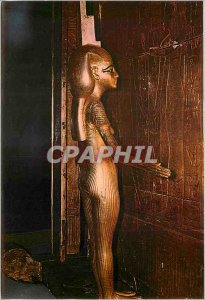 Modern Postcard The Egyptian Museum Cairo Statue of Goddess Isis