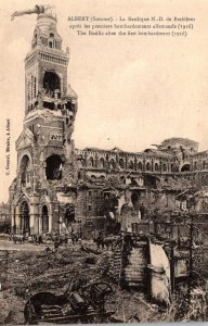 France Albert The Basilica After The First Bombardment