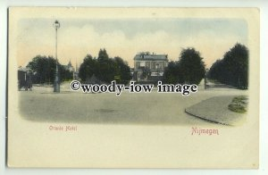 ft1522 - Netherlands - Nijmegen , Oranje Hotel - Early undivided back postcard