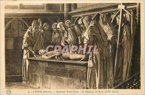 Old Postcard The Thorn (Marne) Notre Dame The Sepulcher N S (XVIth Century)