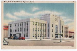 NY - Syracuse. New York Central RR Station
