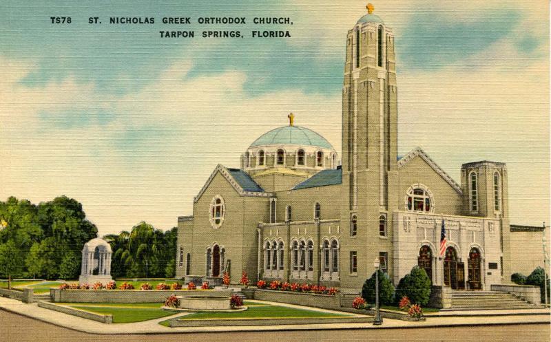 FL - Tarpon Springs. St Nicholas Greek Orthodox Church
