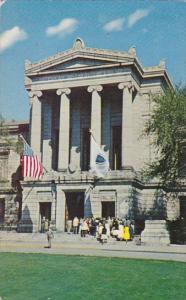 Huntington Avenue Entance Museum Of Fine Arts Boston Massachusetts