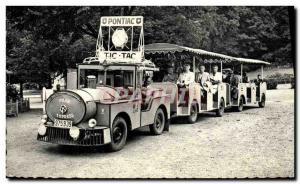 Postcard Modern Spa Pelit Pontiac Train