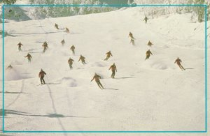 Snow skiing , MOUNT ORFORD , Quebec , Canada , 1989