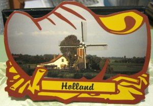 Netherlands Holland Windmill - posted