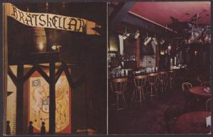 Bratskeller,Chicago,IL Postcard