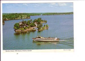 Zavikon Island, Cuise Boat,  Thousand Islands, Ontario, Canada