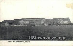 Indiana Steel Company Plant Gary IN 1908