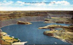 Washington Dry Falls and Falls Lake