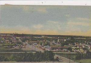 Wyoming Cheyenne Panorama Of A Section Of Cheyenne