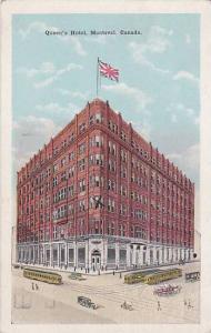 Exterior, Queen's Hotel,  Montreal, Canada, PU_1923