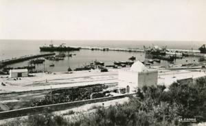 Morrocco - Agadir, The Port - RPPC