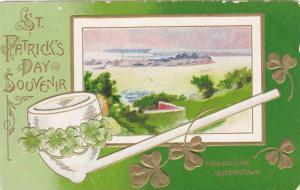 Haulbouline , Queenstown , Ireland , St Patrick's Day border , PU-1908