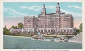 Virginia Old point Comfort The Chamberlin Vanderbilin Hotel
