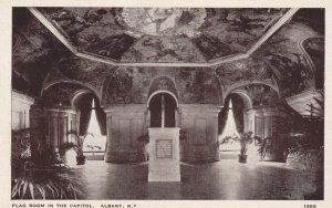 ALBANY, New York, 1910-1930s; Flag Room In The Capitol