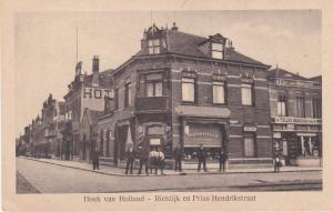 Post Card   Netherlands Hoek van Holland – Rietdijk en Prins Hendrickstraat
