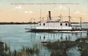SAYBROOK POINT , Connecticut, 1900-10s; Ferryboat COLONIAL