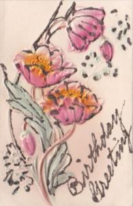 Birthday Greetings With Beautiful Flowers