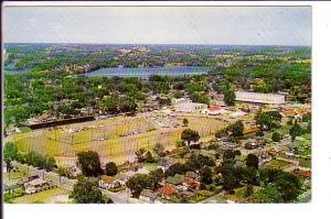 Aerial Peterborough Exhibition Grounds , Ontario,