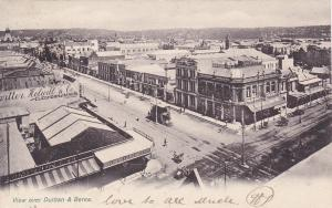 View over Durban & Berea , South Africa , PU-1906