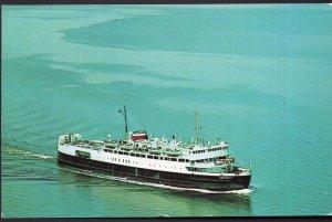 PEI Passenger Ferry Boat M.V.S. ABEGWEIT Cape Tormentine N.B. Borden - Chrome
