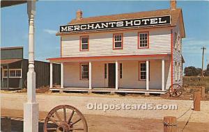 First Cattlemen's Hotel, Merchants Hotel, Old Abilene, Kansas, KS, USA P...