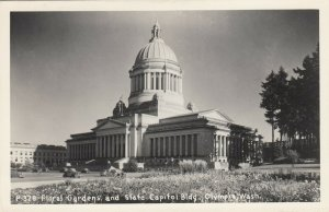 RP: OLYMPIA , Washington , 1930-40s ; State Capitol Floral Garden