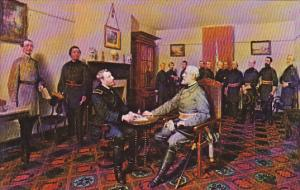 Surrender Of General Lee To General Grant 9 April 1865
