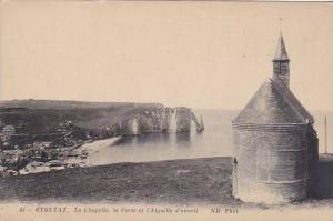 Étretat , France , 00-10s ; La Chapelle