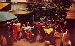Farmer's Market Los Angeles Barber Beaty Shop Ladies Postcard