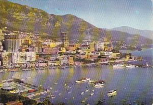 Monaco Monte Carlo Le Port et la Piscine Olympique