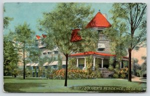 South Bend Indiana~Joseph Doty Oliver Residence~Copshaholm~Chilled Plow CEO~1908