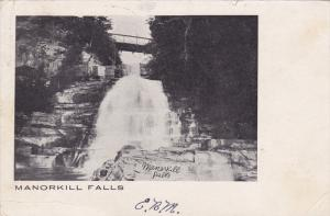 NEW YORK, PU-1907; Manorkill Falls