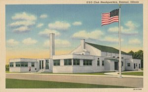 RANTOUL , Illinois, 1930-40s , USO Club Headquarters