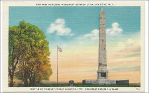 Oriskany Mem Monument, Utica - Rome NY