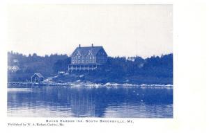 Maine  South Brooksville , Buck's Harbor Inn