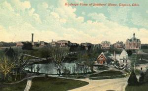 OH - Dayton. Bird's Eye View, Soldiers' Home