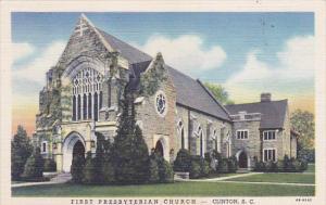 First Presbyterian Church, CLINTON, South Carolina, 1930-1940s