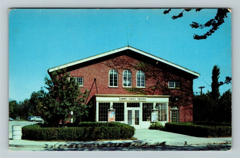 Indianapolis IN- Indiana, Armed Forces Theater, Fort Harrison, Chrome Postcard