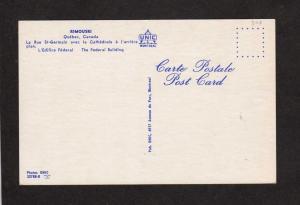 QC Souvenir Rimouski Rue St-Germain Rexall Drug Quebec Canada Carte Postale