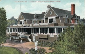 FALMOUTH, Maine , 1900-10s ; Casino at Underwood Spring Park