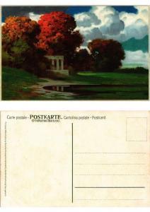 CPA Herbststimmung Meissner & Buch Litho Serie 1452 (730536)