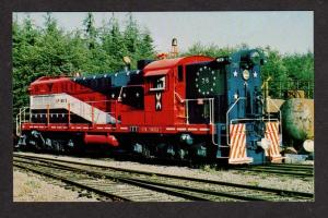 WA Rayonier Railroad Train 76 Crane Creek Camp WASHINGTON Postcard RR PC